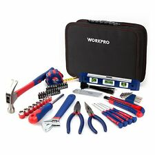 WORKPRO 100PC Drawer Tool Kit Kitchen Home Automotive Auto Chest Handtool Box