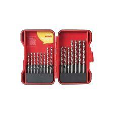15pc High Quality Masonry Drill Bit Set Storage Case 5mm-10mm Sand Blasted Brick