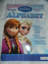 Frozen Disney Alphabet Workbook Preschool Kindergarten Homeschool Educational