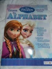 Frozen Disney Alphabet Workbook Preschool Kindergarten Homeschool Educational