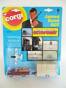 CORGI JUNIORS E3019 'OCTOPUSSY JAMES BOND 007 RANGE ROVER'. MIB/CARDED/BLISTER.