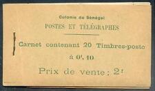 SENEGAL 1922 DALLAY 6A CARNET ** RAR (L2304b