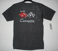 Authentic Corvette Racing Screen Printed T-Shirt Gray  colour JH Design  2XL