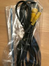 2.5mm Ts to Rca Cable Mono Unbalanced As-Is Unused