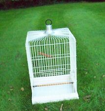 PARROT CAGE. BEAUTIFULLY RESTORED 52cm x 52cm   90cm HIGH. COLLECTION ONLY.