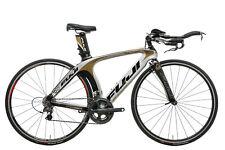 2010 Fuji D6 Pro Triathlon Bike Small Carbon Shimano Dura-Ace 7900 10 Speed