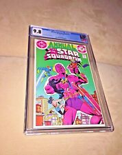 All-Star Squadron Annual #1, CGC 9.8, White Pages