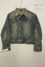 Giubbino giacca jeans diesel gregg boyfriend (Cod.G391) Tg L usato uomo