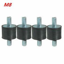 Gummi Metall Puffer Silentblock Dämpfer 1 Stück Gummipuffer Typ A 40x20mm M8