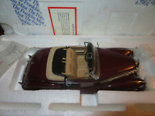 FRANKLIN MINT 1957 MERCEDES BENZ 300 SC ROADSTER 1/24