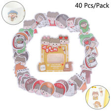 40x Cute Boxed Stickers Planner Scrapbooking Stationery Diary Stickers Labe '`