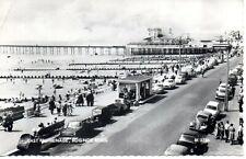 RP Postcard Bognor Regis east Promenade Sussex posted 1965