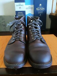 Red Wings Iron Rangers 8115 in Gorgeous chocolate patina size 10 D