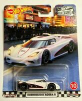 Koenigsegg Agera R Boulevard Hot Wheels 2020 Car Culture Real Riders 10 Mattel