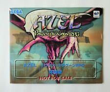 PANZER DRAGOON AZEL SAGA RPG Promo Demo Disc [ GS-9076 ] Sega Saturn Japan
