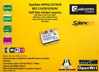SparkLan WPEQ-257ACN Atheros QCA9882 Half Size minipci-express 802.11AC 867 mbps