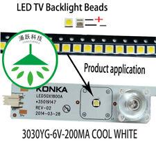 100pcs/lot 6V for lcd TV repair led TV backlight strip light-diode 3030 SMD LED