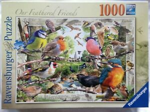 Brand New Ravensburger 1000 Piece Jigsaw Puzzle - OUR FEATHERED FRIENDS