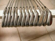 Titleist DCI 962B 1-P Golf Irons. Rifle FCM 6.5. AND, Three Titleist Wedges!