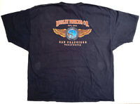 Vintage 1999 Harley Davidson Hanes Beefy T Motorcycles Tshirt Mens Size 4xl