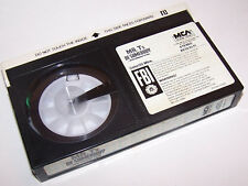 Vintage 1983 Mr. T's Be Somebody Beta Video Cassette Movie - Betamax