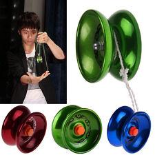 Aluminum Design Professional Super YoYo Ball Bearing String Trick Alloy Kids Toy