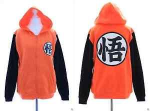 TA-13-1 Dragonball Son Goku Kapuzen orange Sweatshirt Pullover Hoodie Cosplay