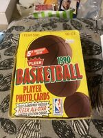 New 1990 Fleer Basketball Box 1990 Fleer Pack Michael Jordan ? Unopened Fleer