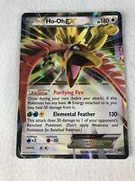 Ho-Oh EX 92/122 ULTRA RARE Pokemon XY Breakpoint NM Holo