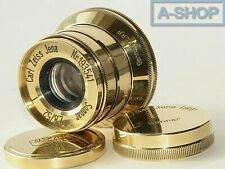 SONNAR Carl Zeiss Jena Gold 2.8/ 52mm M39 Lens for Leica Sony Nikon Canon