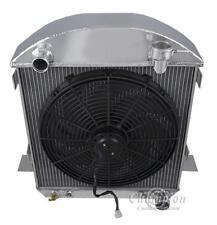 "1917 - 1927 T-Bucket Configuration 2 Row 1"" Tubes SR Radiator w/ 16"" Fan AE1005"
