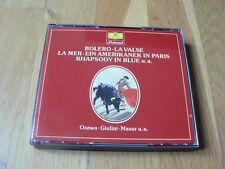 Ravel : Boléro, La Valse - Debussy : La Mer - Gershwin - Ozawa... - 2CD DGG WG