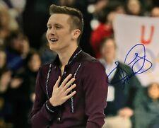Jeremy Abbott Figure Skating USA Olympics Signed 8x10 Autographed Photo COA E1