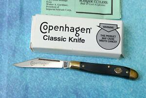 SCHRADE USA Copenhagen Jack Knife COPE12 - NEW Old Timer PAL 12OT Classic in Box