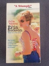 Erin Brockovich (VHS, 2000) Julia Roberts Albert Finney Based on a True Story