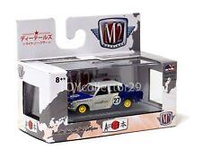 M2 Machines 1969 Datsun Bluebird Blue & White Diecast Car  1/64 510 JPN02 #27
