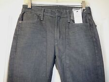 NWT HELMUT LANG RAW GREY DENIM ASH 5 POCKET SLIM JEANS 25