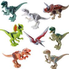 8 Piezas Parque Jurásico Mundo Dinosaurio Mini Figuras Set Lego Kids Toy ES TOP