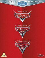Cars 1 2 3 Movie Collection, Blu-ray Box Set, Disney, Pixar, Region Free, New