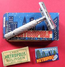 METROPOLIS ITALIAN SAFETY RAZOR IN CARD BOX