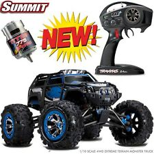 Traxxas 56076-4 1/10 Summit TQi 4WD RTR Extreme Terrain Monster Truck Blue