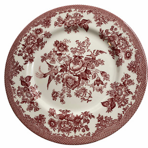 """ROYAL STAFFORD England ASIATIC PHEASANT Red 11"""" Dinner Plate 1 2 3 or 4"""