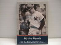 2001 Upper Deck Cooperstown Collection Mickey Mantle MM32 & MM46