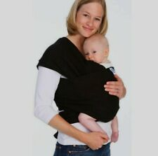 New ListingMoby Wrap Baby Carrier Black Material Tie Sling