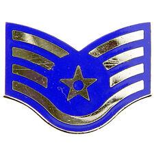 US Air Force Staff Sergeant E5 Lapel Pin