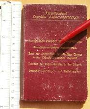 1929 Mitgliedsbuch Deutscher Bühnenangehöriger BOOKLET member ID CARD GERMANY