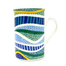 Mug Cup Coffee Tea Bone China Australia Indigenous Aboriginal Art Rainbow Reef
