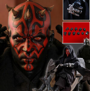 1/6 Scale Star Wars Darth Maul Head Sculpt Figure Collectible New HOT TOYS DX16