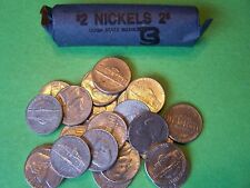 1954 D Jefferson Nickel - 40 Coin Roll