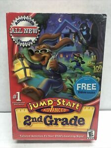 Jump Start Advanced 2nd Grade Learning Game & Video Brand NEW Windows/Mac